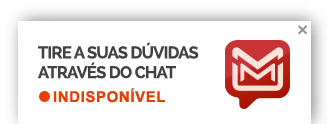 Tire suas d�vidas atrav�s do chat