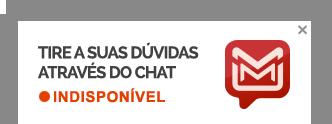 Tire suas dúvidas através do chat
